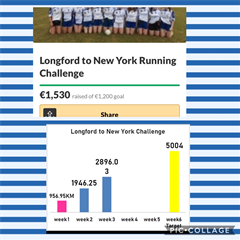 Longford to New York Challenge Update!